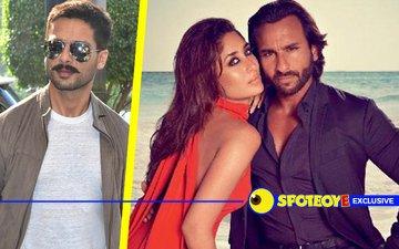 Shahid turns down Saif-Kareena's invitation
