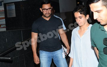IN PICS: Aamir Khan Dines With His Dangal Daughters