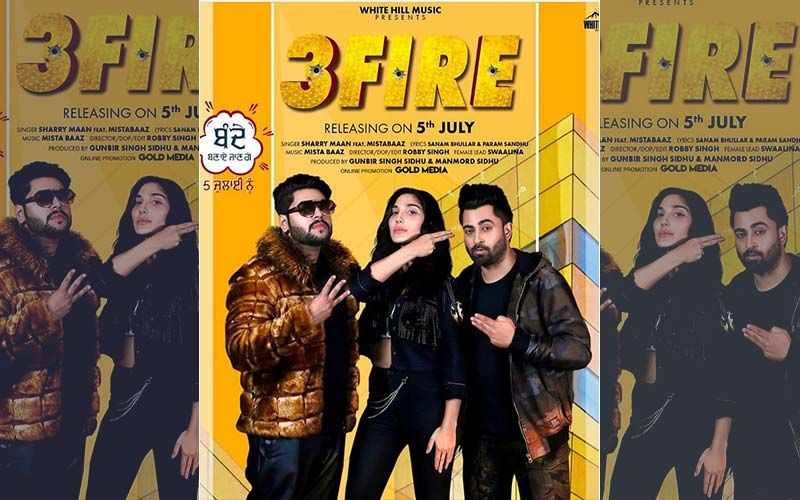 Sharry Maan's New Song '3 fire' Is Playing Exclusively On 9X Tashan