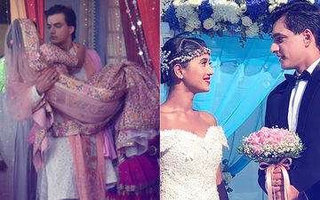 4 Times Shivangi Joshi And Mohsin Khan Tied The Knot In Yeh Rishta Kya Kehlata Hai