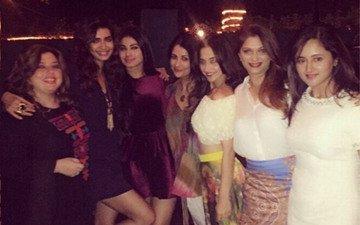 Karishma Tanna parties hard with her girl gang