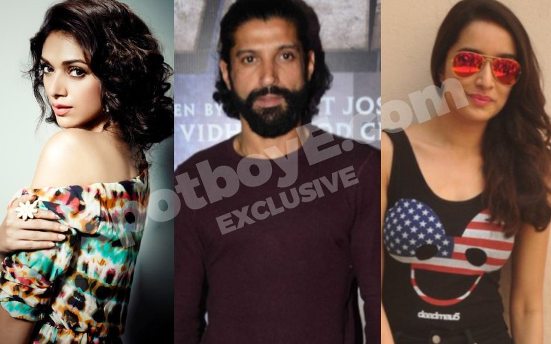 BUZZ: Aditi upset with Farhan, courtesy Shraddha