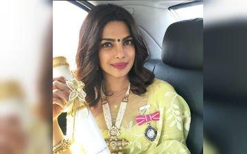 Watch Priyanka Chopra receive the Padma Shri