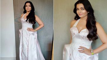Aishwarya Rai Bachchan Is A Sight To Behold In Ziad Germanos White Gown