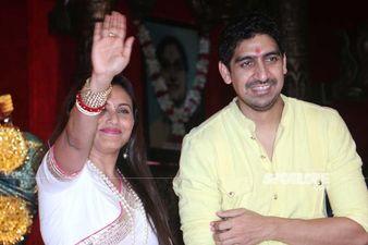 Rani Mukerji Bumps Into Cousin Ayan Mukerji At A Durga Puja Pandal, Actress Serves Food To Devotees