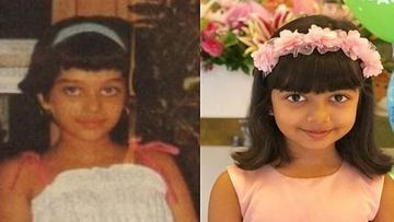 OMG- Aishwarya Rai Bachchan's Childhood Picture With Bangs Is Exactly What Aaradhya Bachchan Looks Like Now