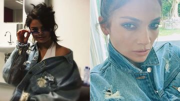 Hollywood Hot Meter: Jennifer Lopez, Gigi Hadid, Jennifer Aniston Or Selena Gomez - Crazy Fans Of DENIM JACKETS
