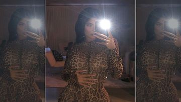 Kylie Jenner Sheds Her Clothes To Pose In A Sultry Two-Piece Before Wishing Good Night- WATCH VIDEO