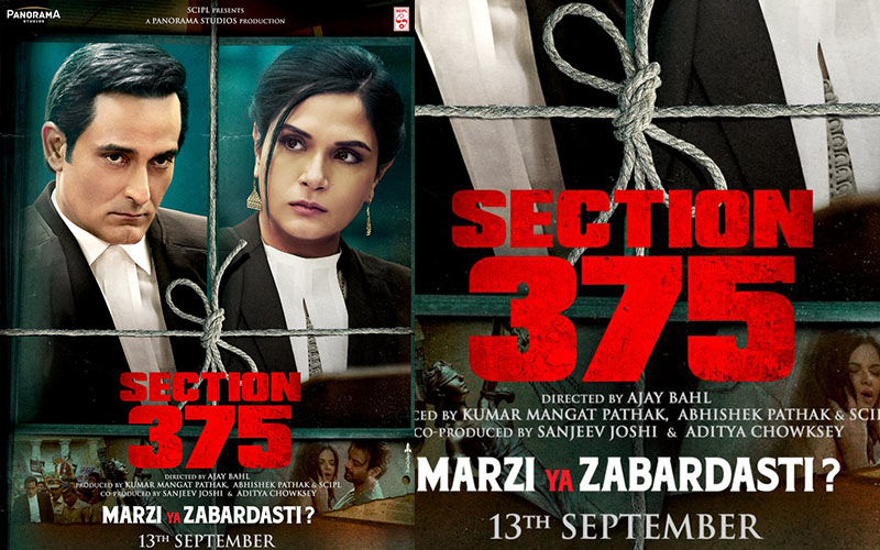 Section 375 Trailer: Akshaye Khanna And Richa Chadha's Film Promises To Be A Hard Hitting Courtroom Drama