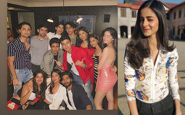 Ananya Panday And Aryan Khan Party The Night Away With A House Full Of Friends- SEE Pics
