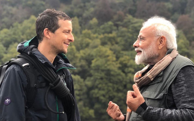 Secret Is Out! PM Namo Reveals How Bear Grylls Understood Hindi On Man Vs Wild