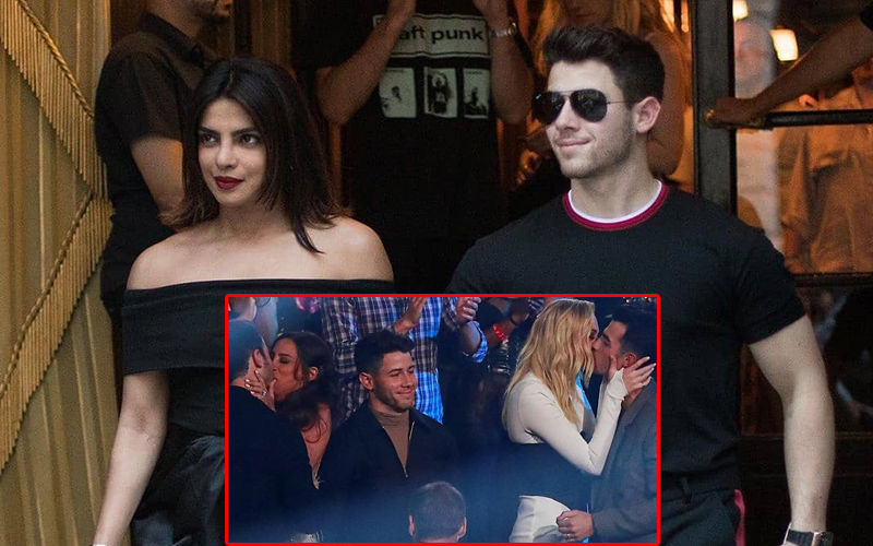 Nick Jonas Misses Wifey Priyanka Chopra At The VMA; Has An Awkward Moment When His Brothers Kiss Their Respective Wives