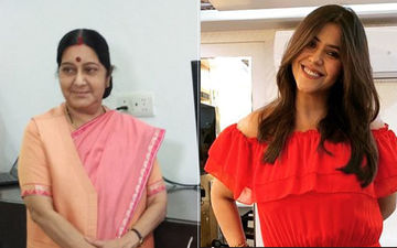 Ekta Kapoor Remembers Sushma Swaraj; Reveals She Has Pictures Of Her In The Office
