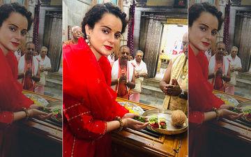 Kangana Ranaut Seeks Blessings Of Lord Krishna Before She Kick Starts Thalaivi