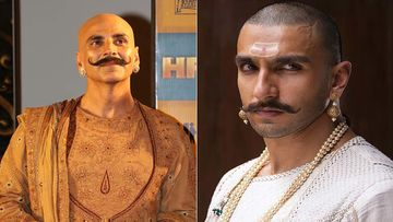 Akshay Kumar's Housefull 4 Look Reminds Us Of Ranveer Singh From Bajirao Mastani