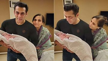 Arpita Khan Sharma Shares Unseen Pictures Of Salman Khan With Her Newborn Ayat- Pics Inside
