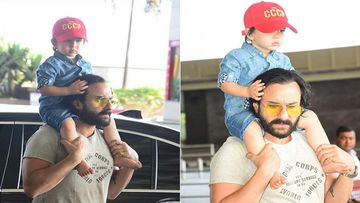 Taimur Ali Khan Loves A Mumbai Rickshaw Ride; Saif Ali Khan Says That's The Best Ride To Beat Traffic