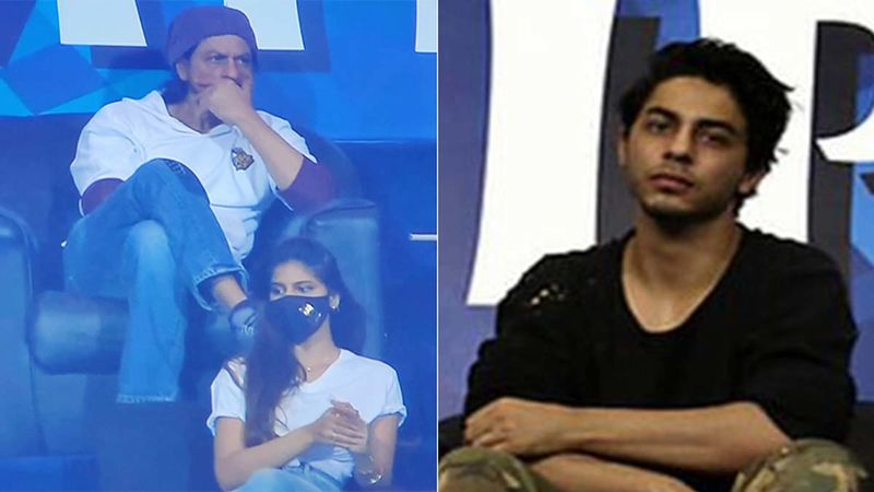 IPL 2020: These Pics Of Shah Rukh Khan And Kids, Suhana And Aryan, At The KKR Vs CSK Game Are Getting A Bunch Of Attention - Don't Miss