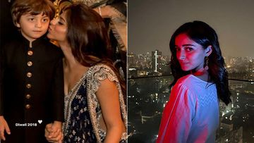 Diwali 2020: Suhana Khan Shines Bright With Baby AbRam As Bestie Ananya Panday Wishes Fans A Safe Diwali