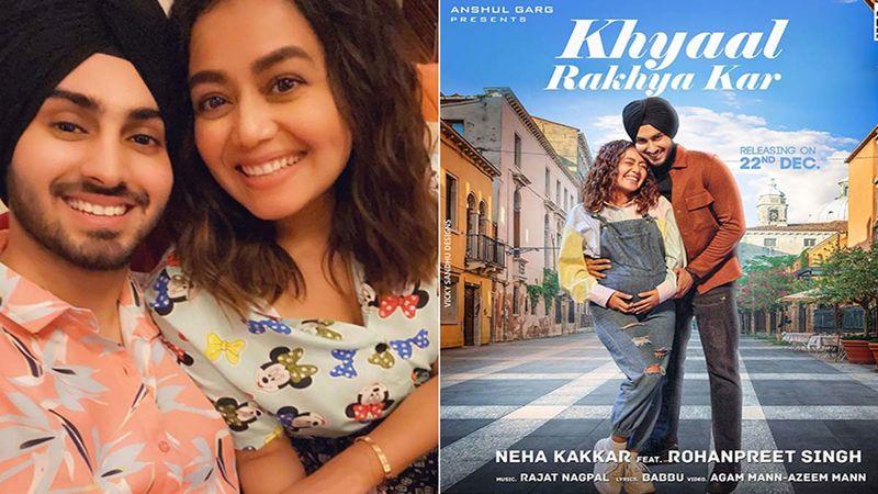 Khyaal Rakhya Kar: Neha Kakkar And Rohanpreet Singh Get Massively Trolled For Their Pregnancy Gimmick For Promotions