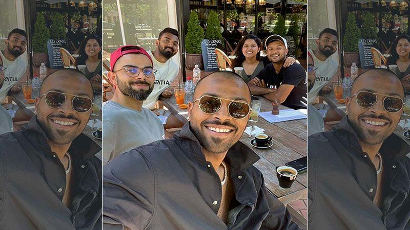 Hardik Pandya Drops A Killer Selfie Soaking In The Sun With Virat Kohli, KL Rahul And Mayank Agarwal; Check It Out