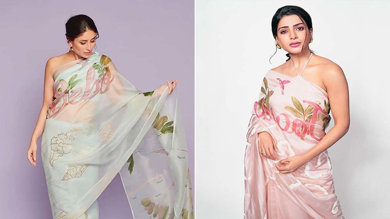 Kareena Kapoor Khan Vs Samantha Akkineni - Who Oozed More Oomph In Organza Saree?