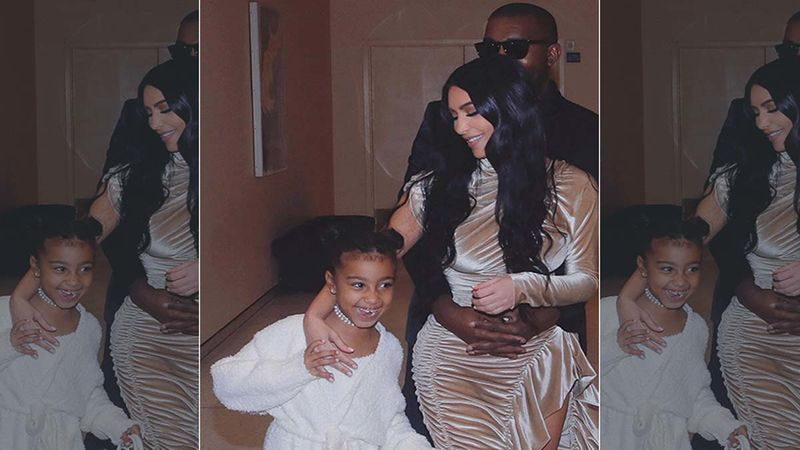 Kim Kardashian-Kanye West's Daughter North Crashing Their Video Interview Is The CUTEST Thing Ever