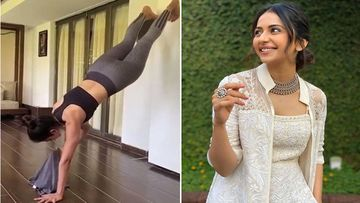 Rakul Preet Singh Nails The T-Shirt Challenge; Wears Her Crop Top While Doing An Elevated Plank; Fans Urge Her To Participate In Olympics