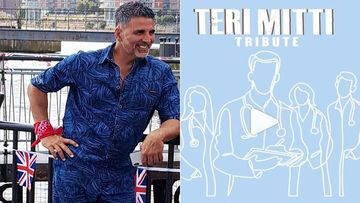 Akshay Kumar To Release Special Edition Of Teri Mitti Tomorrow; Special Tribute To COVID-19 Doctors