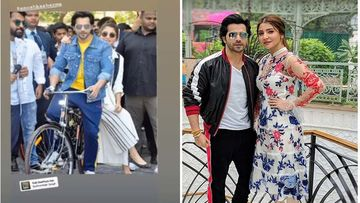 Coronavirus Lockdown: Anushka Sharma Seems To Be Missing Going Out As She And Varun Dhawan Share Their Sui Dhaaga Days