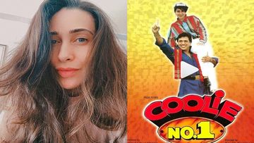 #25YearsOfCoolieNo1: Karisma Kapoor Shares A Motion Poster And A Trophy And Remembers 'The Days Of Silver Jubilee Trophies'