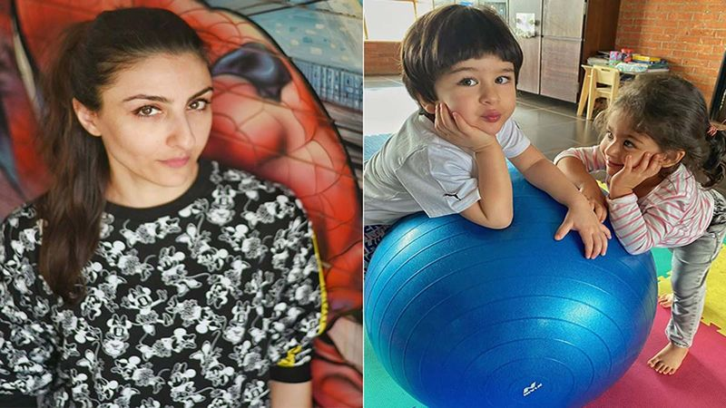 Raksha Bandhan 2020: Cutest Bro-Sis Taimur Ali Khan And Inaaya Naumi Kemmu Are Goofing Around Much To Everyone's Delight