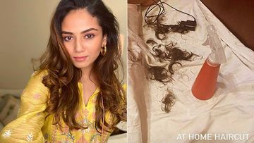 Mira Rajput Goes Chop Chop On Her Hair; Gets A Quarantine Haircut