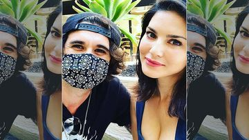 Sunny Leone Spends Some Quality Time With Hubby Daniel Weber - It's A Date Minus The Kids