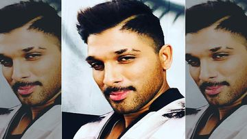 Telugu Actor Allu Arjun Greets His Fans Waiting With Bated Breath On The Location Of Pushpa In Telangana – Watch Video
