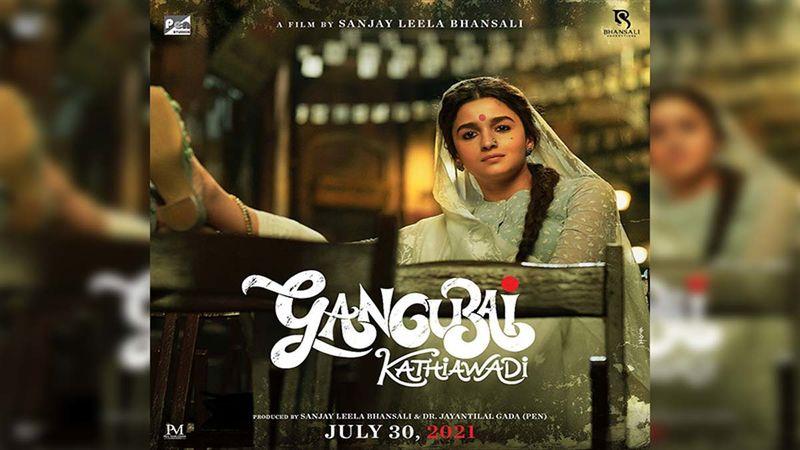 Gangubai Kathiawadi: Alia Bhatt Reveals The Release Date With A Brand New Striking Poster