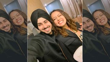 Neha Kakkar Shares Pictures Of Her First Rose Day With Hubby Rohanpreet Singh; Gushes Over Hubby, 'My Rohu Baby is The Best'