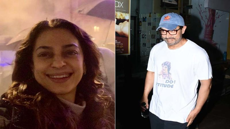 Happy Birthday Aamir Khan: Juhi Chawla Pledges To Plant 100 Trees As His Birthday Gift; Shares A Throwback Picture While Recalling The Fun Moments They Had