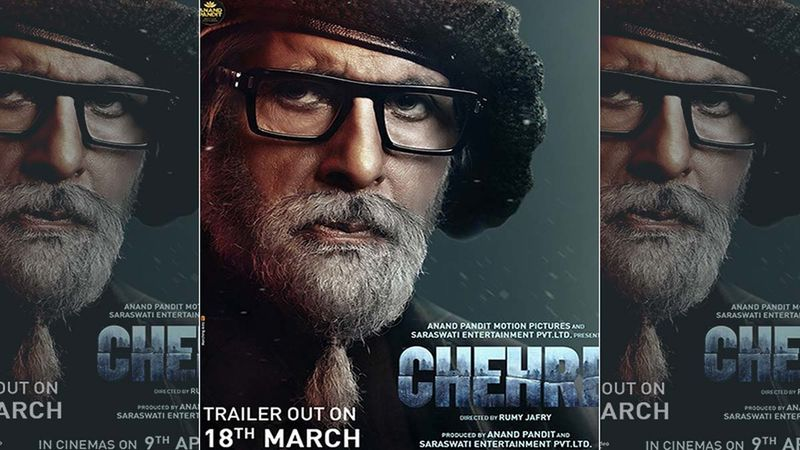 CHEHRE First Look Poster: Amitabh Bachchan Steals The Show With His Intriguing Look