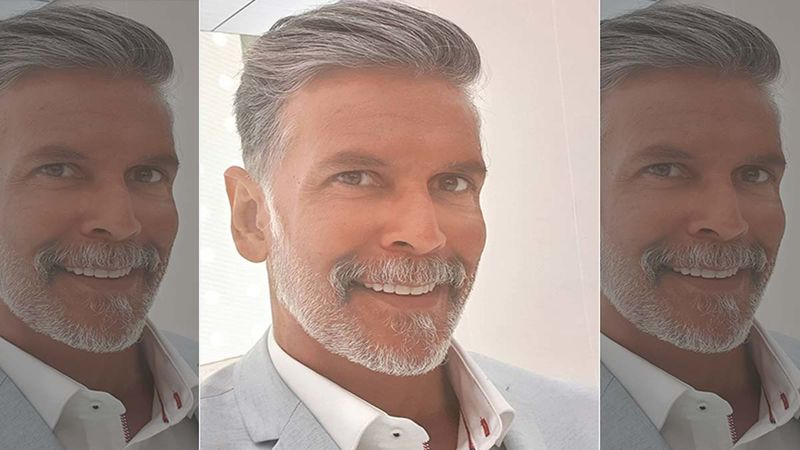 Milind Soman Drops A Friday Face-Off Video; Asks His Fans Which Look Suits Him The Most- Beard Or No Beard