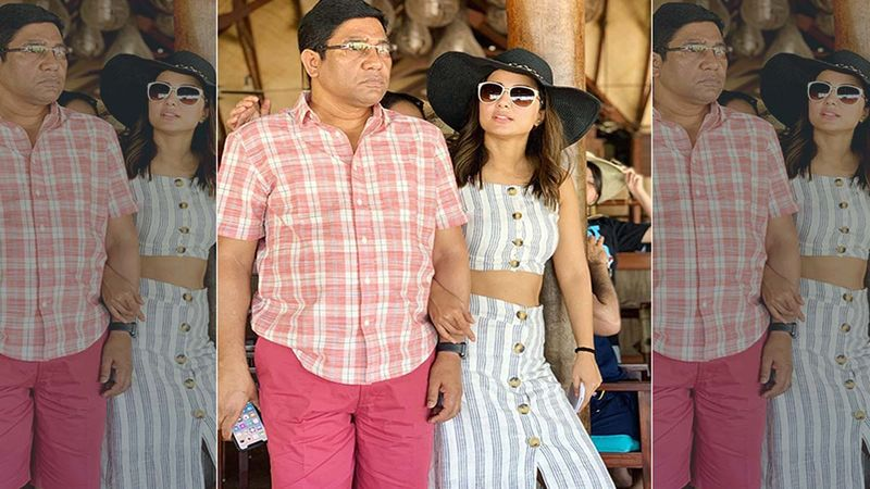Hina Khan's Father Passes Away: Throwback Video Of Father-Daughter's Happy Moments From Their Family Vacation Goes Viral- WATCH