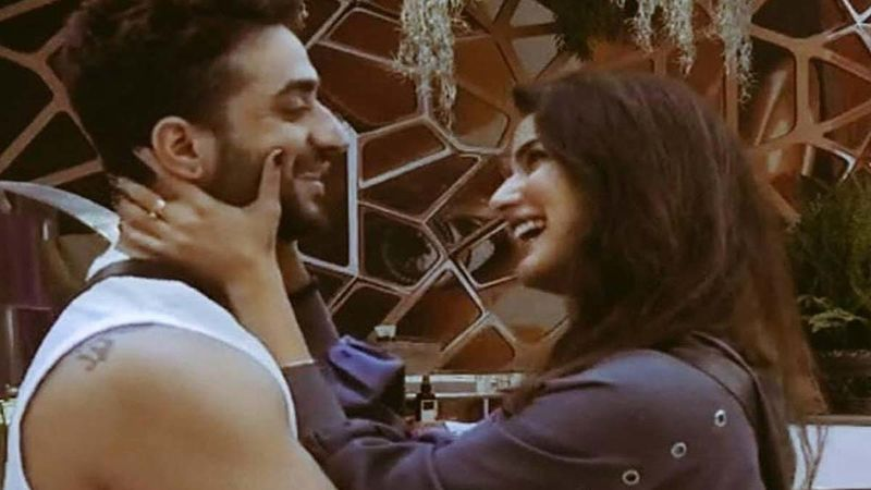 Aly Goni's Ladylove Jasmin Bhasin Is Impatient As She Waits For Him At The Airport; Gives Him A Warm Hug As He Returns To Mumbai- Watch Video