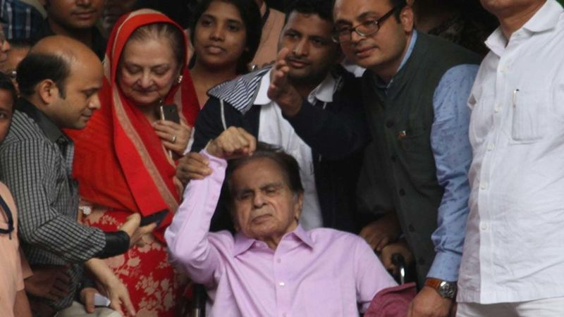 Dilip Kumar Admitted To Hospital After Complaining Of Breathing Issues