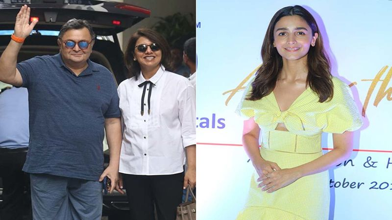 Neetu Kapoor Posts A Throwback Picture With Her Late Husband Rishi Kapoor And A Quirky Caption; Alia Bhatt Says 'Love This'