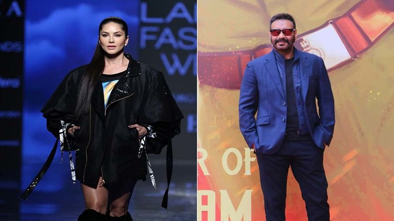 Sunny Leone Drops A BTS Video As She Performs A Daredevil Stunt; Her Caption Reminds Us Of Ajay Devgn's Singham