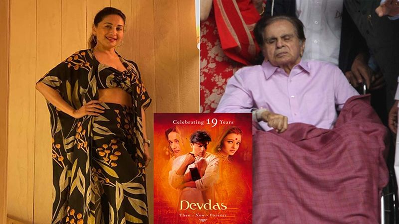 Devdas Completes 19 Years: Madhuri Dixit Pays An Ode To Late Actor Dilip Kumar; Shares An Unseen Picture Featuring Shah Rukh Khan From The Sets