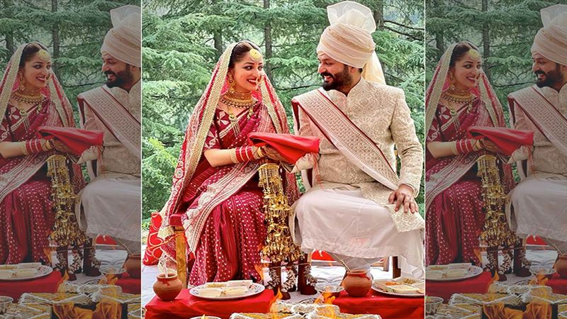 Yami Gautam And Aditya Dhar Celebrate One Month Of Their Marriage, Actress Shares Adorable Picture From Wedding Ceremony