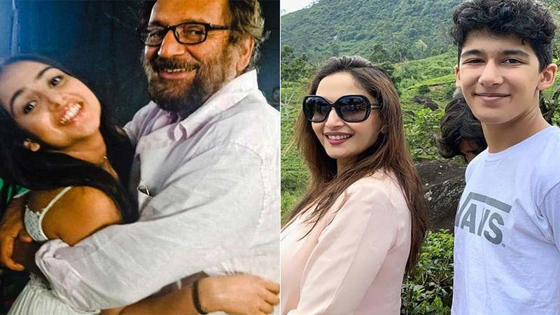While Shekhar Kapur Dedicates A Post To His Gorgeous Daughter Kaveri, Madhuri Dixit Is Overwhelmed As Son Leaves India For Further Studies