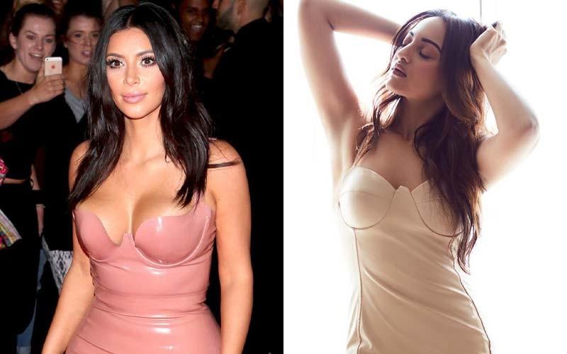 Kim Kardashian and-Sonakshi Sinha
