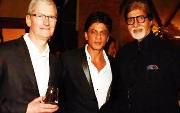 Check Out: INSIDE pics from SRK's party for Apple CEO Tim Cook